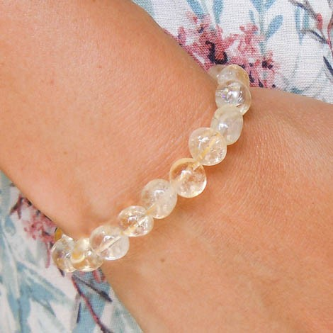 CITRINE bracelet energy jewelry