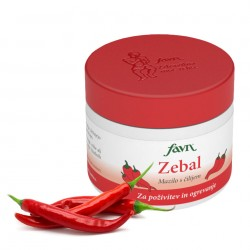 natural ointment with chili, chili, ointment for revitalization and heating