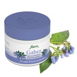 COMFREY, gel with comfrey root extract, skin care gel after injuries, nourishes skin affected by scars