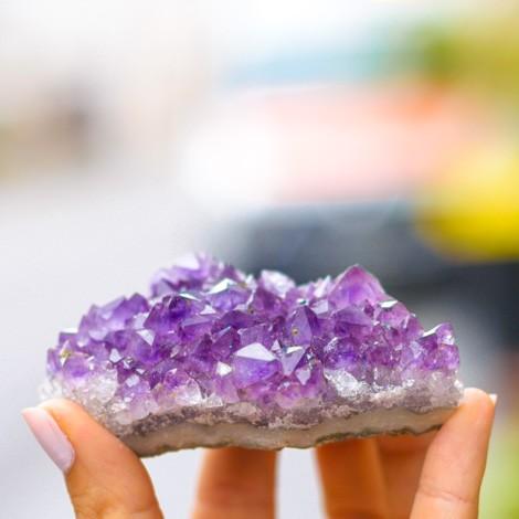 ametist rastišče ametist kristal