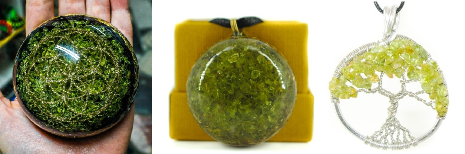 peridot olivin