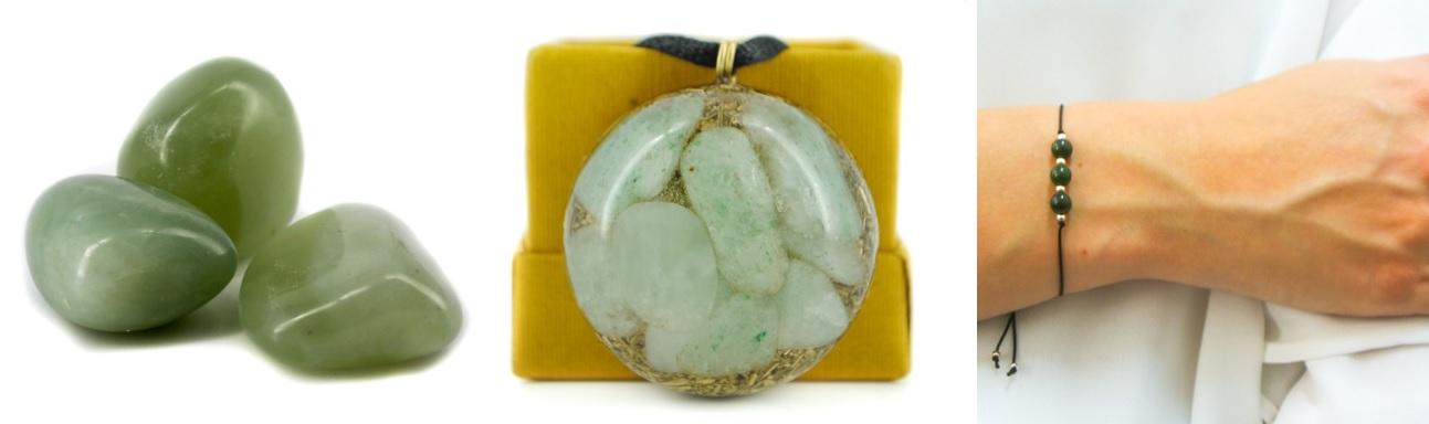 žad kamen kristal